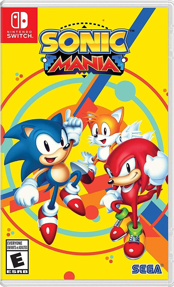 Swi Sonic Mania - Sonic Mania for Nintendo Switch
