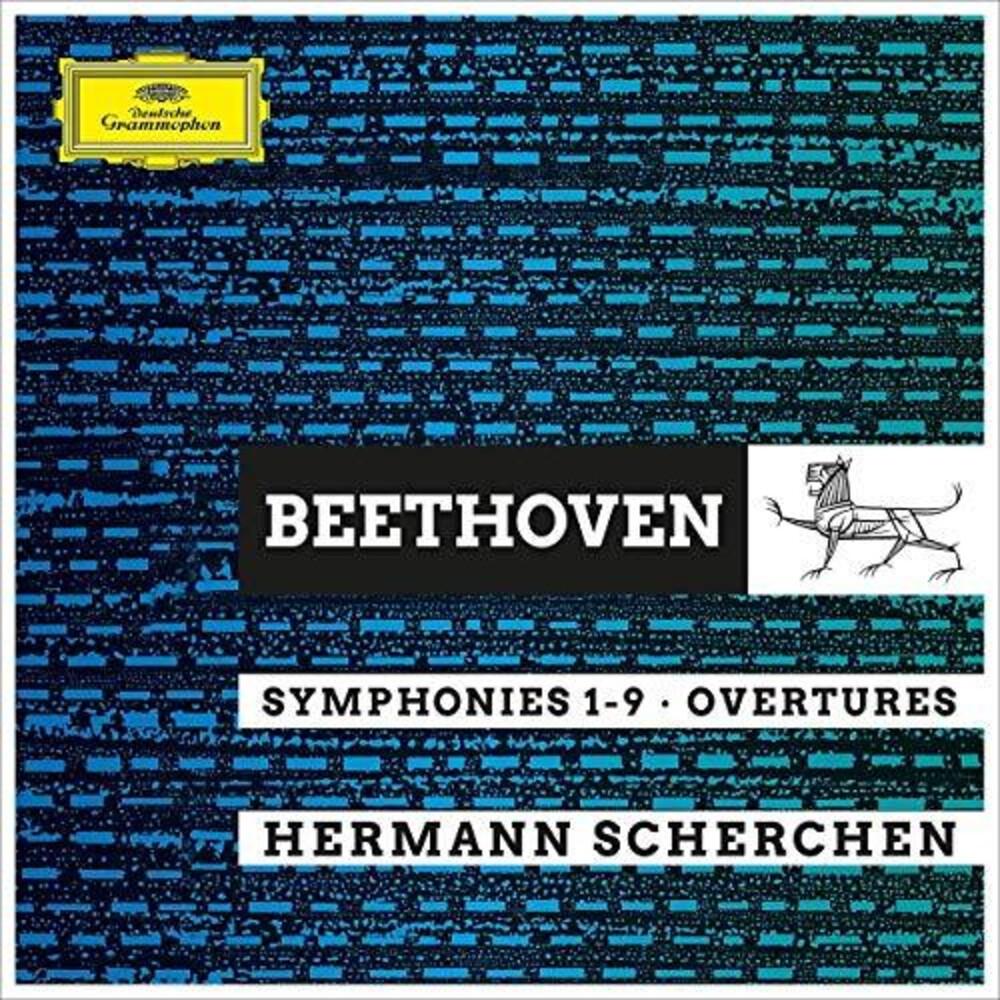 Herman Scherchen - Beethoven Symphonies 1-9 Overtures (Box)