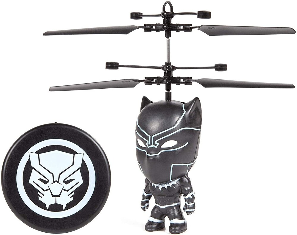 Flying Figure - Marvel 3.5 Inch: Black Panther Flying Figure IR Helicopter (Marvel, Avengers, Black Panther)