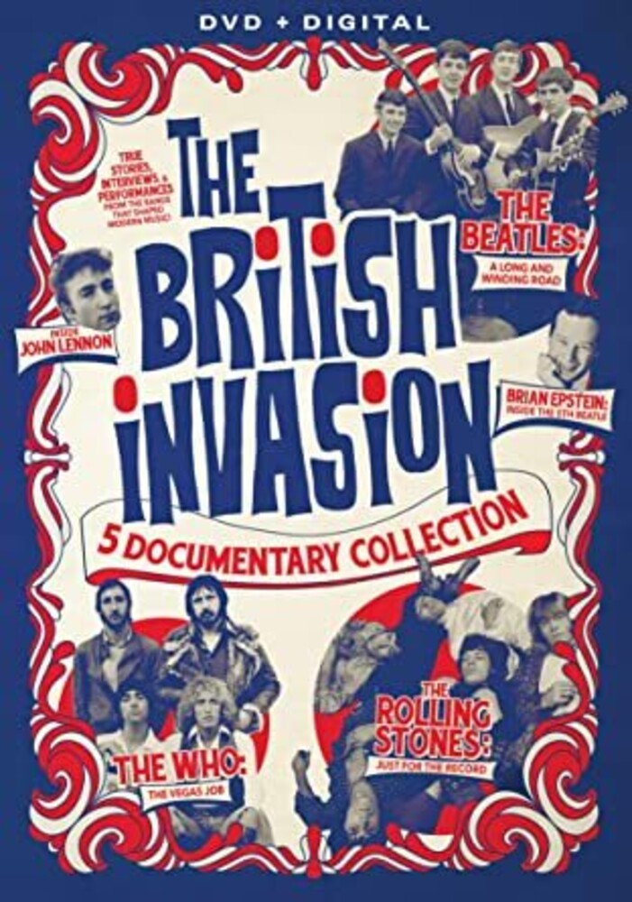 British Invasion - The British Invasion: 5 Documentary Collection
