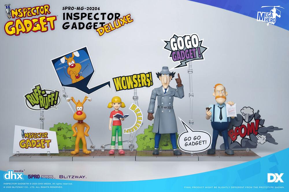Blitzway - Blitzway - Inspector Gadget - Inspector Gadget Deluxe Set, 5Pro StudioMEGAHERO Series