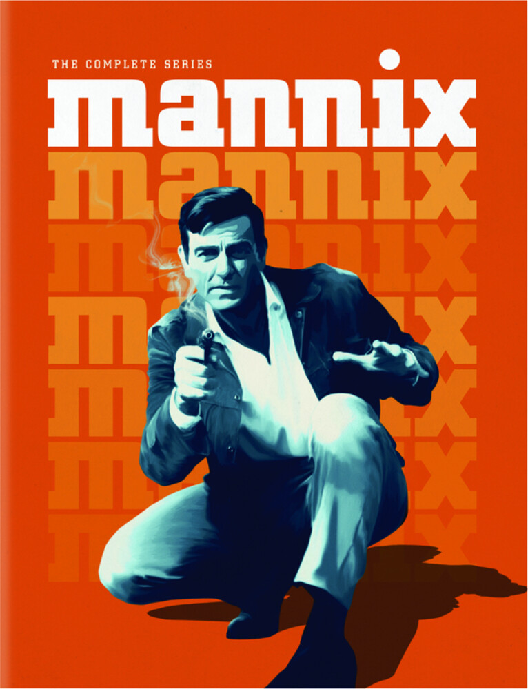 Mannix: Complete Series - Mannix: Complete Series (48pc) / (Box Full Mono)