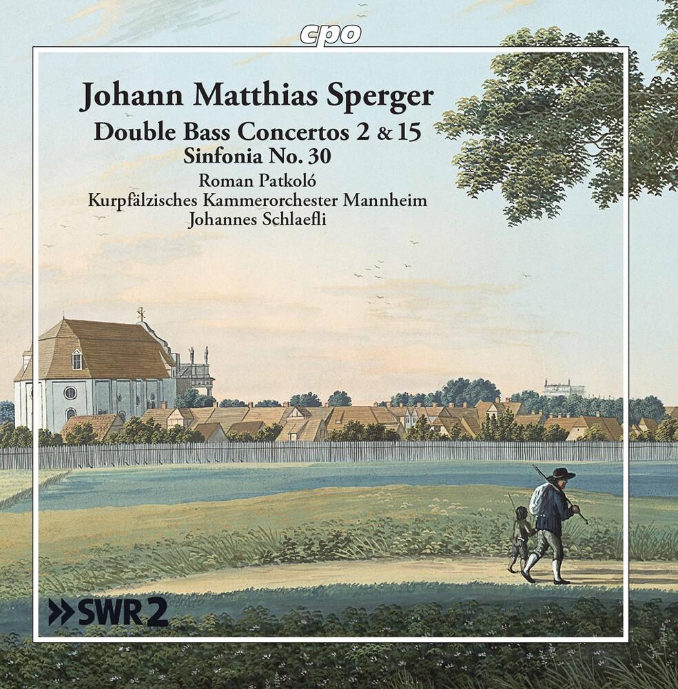 Roman Patkoló - Double Bass Concertos 2 & 15