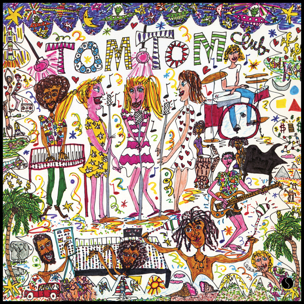 Tom Tom Club - Tom Tom Club [Colored Vinyl] [Limited Edition] (Red) (Ylw)