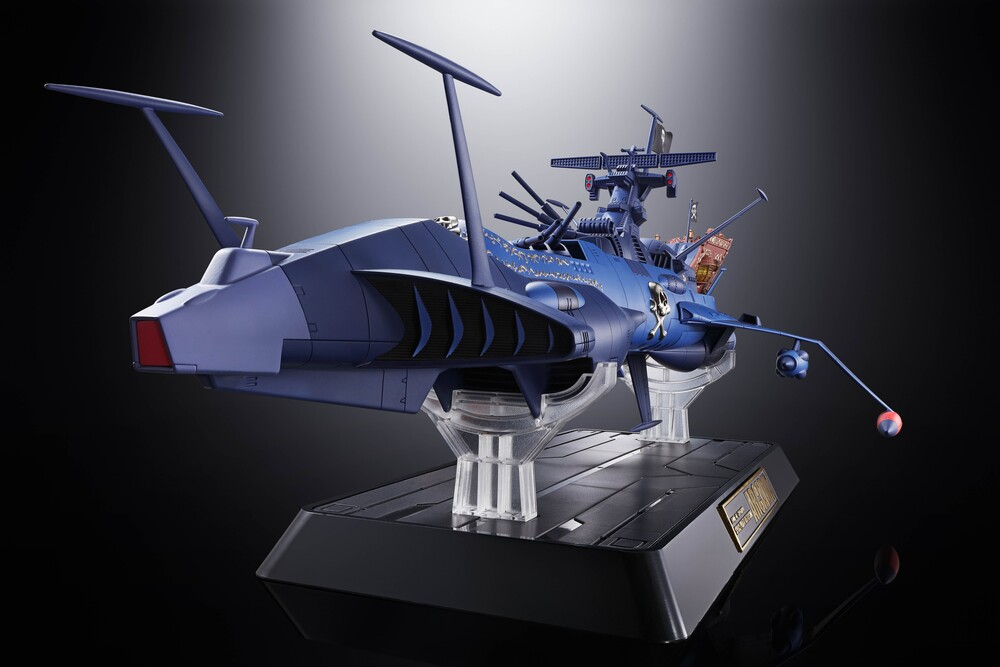 Tamashi Nations - Tamashi Nations - Space Pirate Captain Harlock - GX-93 Space Pirate Battleship Arcadia, Bandai Tamashii Nations Soul of Chogokin