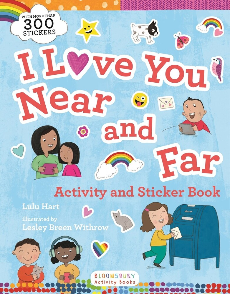 - I Love You Near and Far Activity and Sticker Book