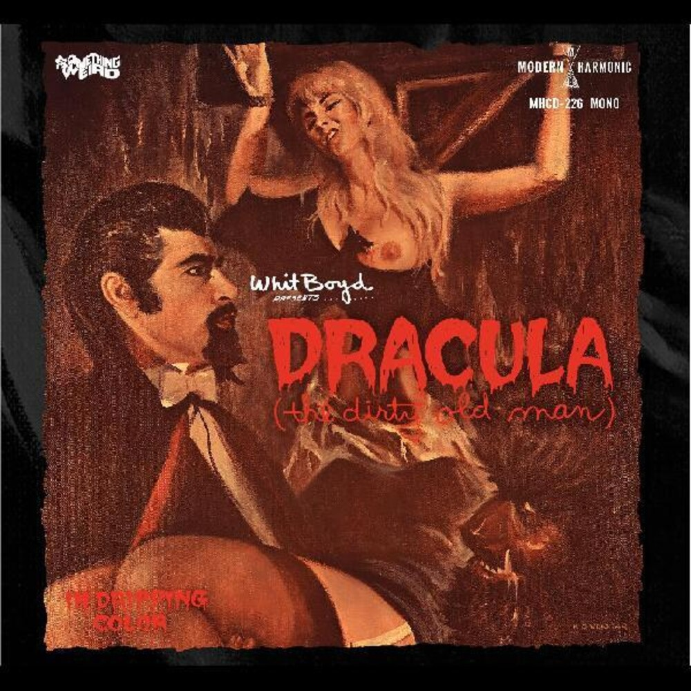 Whit Boyd Combo W/Dvd - Dracula (The Dirty Old Man) / Original Motion