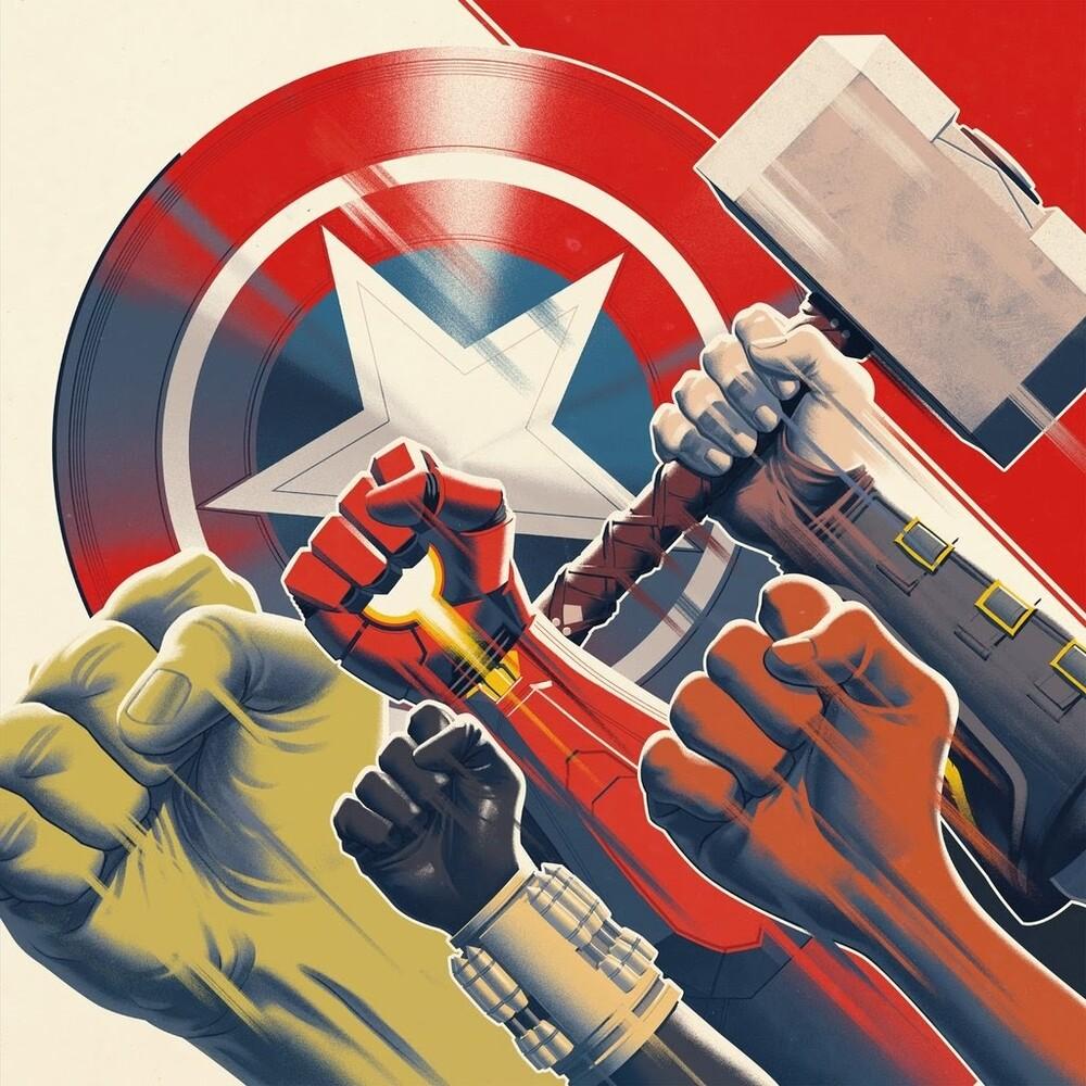 Bobby Tahouri Blk Ogv - Marvel's Avengers / O.S.T. (Blk) (Ogv)