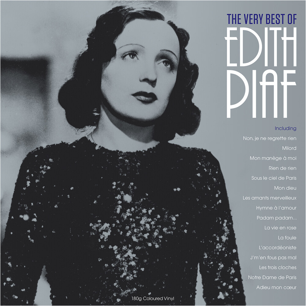 Edith Piaf - Very Best Of [Clear Vinyl] [180 Gram] (Uk)