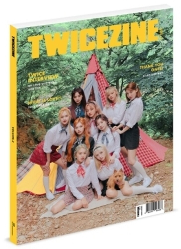 Twice - Twicezine Volume 2 (incl. Phone Strap + Film Photo Set)