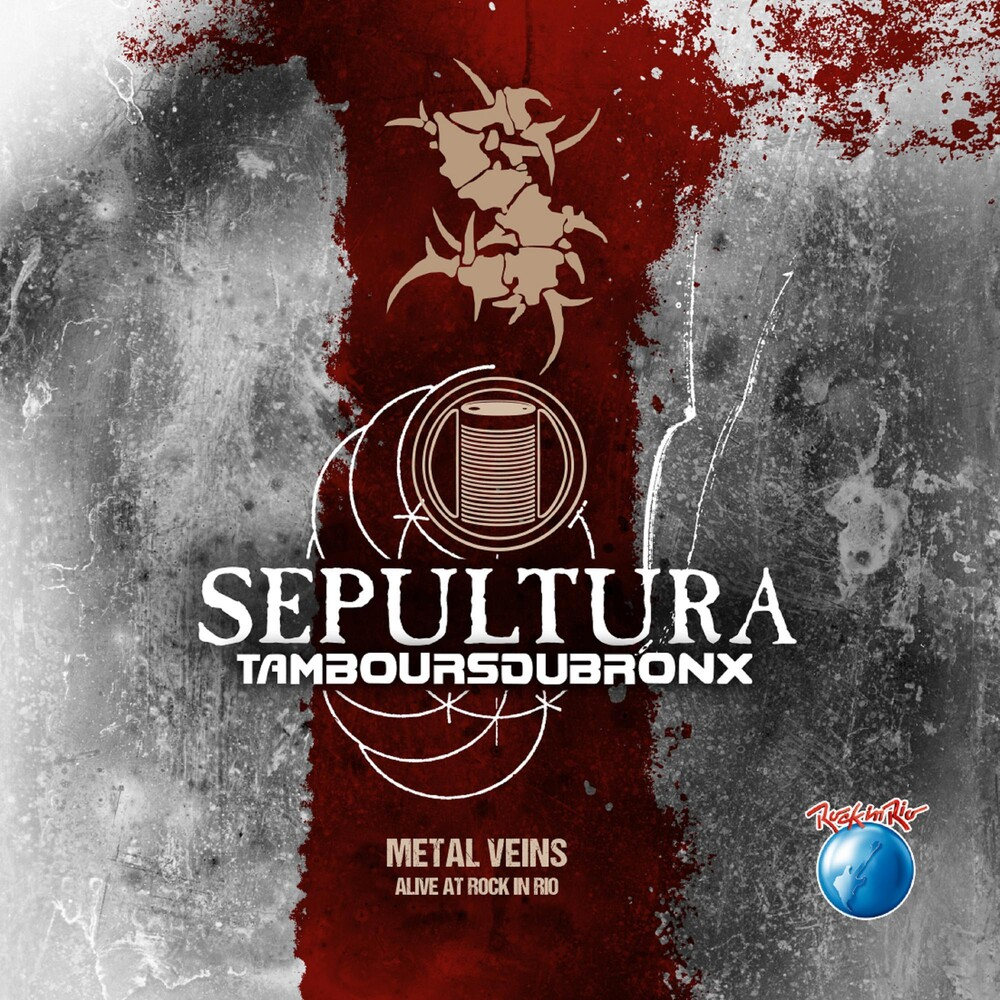 Sepultura - Metal Veins - Alive At Rock In Rio [Limited Edition LP]