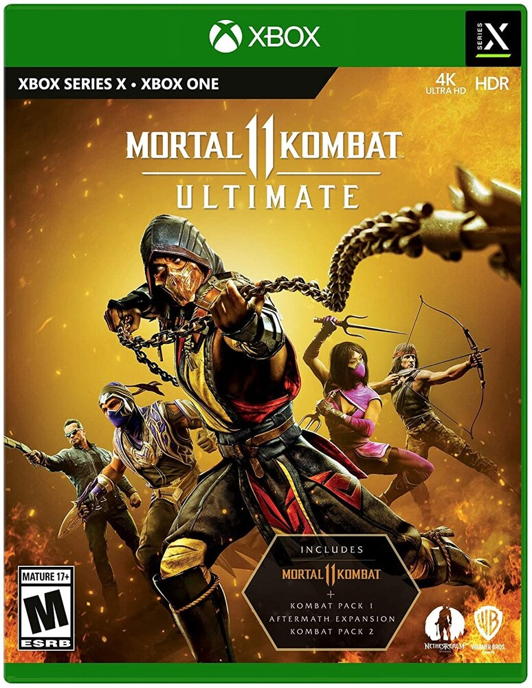 Xbx Mortal Kombat 11 Ultimate - Mortal Kombat 11 Ultimate for Xbox Series X and Xbox One