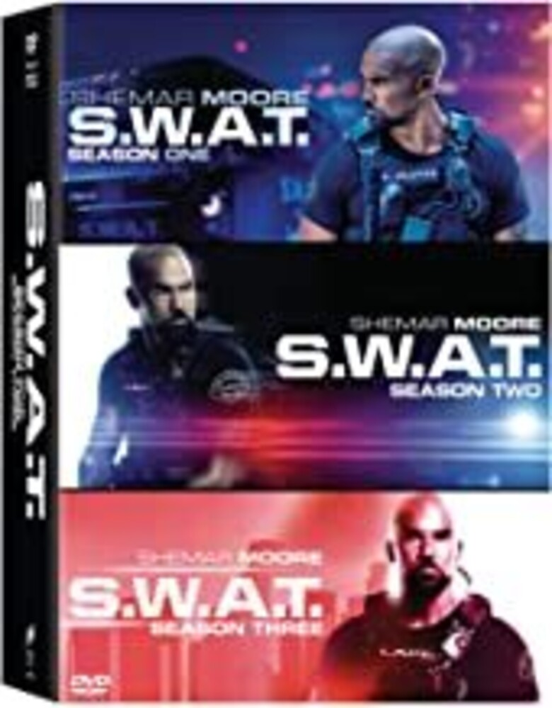 S.W.a.T.: Seasons 1-3 - S.W.A.T.: Seasons 1-3 [NTSC/0 DVD Boxset With English-French Bilingual Packaging]