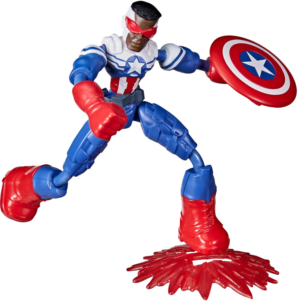 - Hasbro Collectibles - Marvel Avengers Bend And Flex Falcon