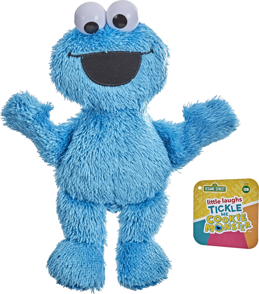 Ses Little Laughs Cookie Monster - Hasbro Collectibles - Seasme Street Little Laughs Cookie Monster