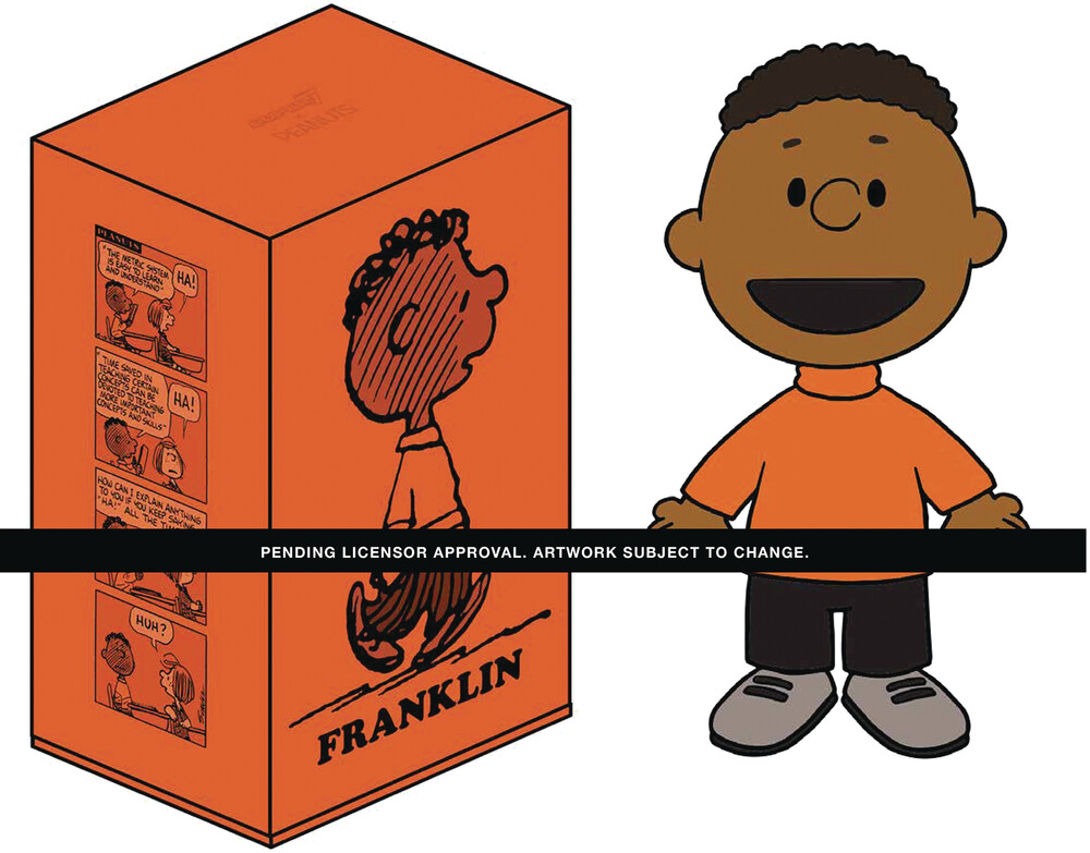 Peanuts Big Vinyl - Franklin - Super7 - Peanuts Big Vinyl - Franklin