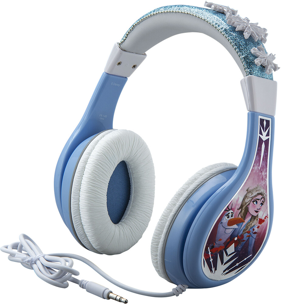 Frozen II Fr-140.Ex9MI Yth Hdphn Blue/White - Frozen II FR-140.EX9MI Youth Headphones On Ear With Volume Limiting(Blue/White)