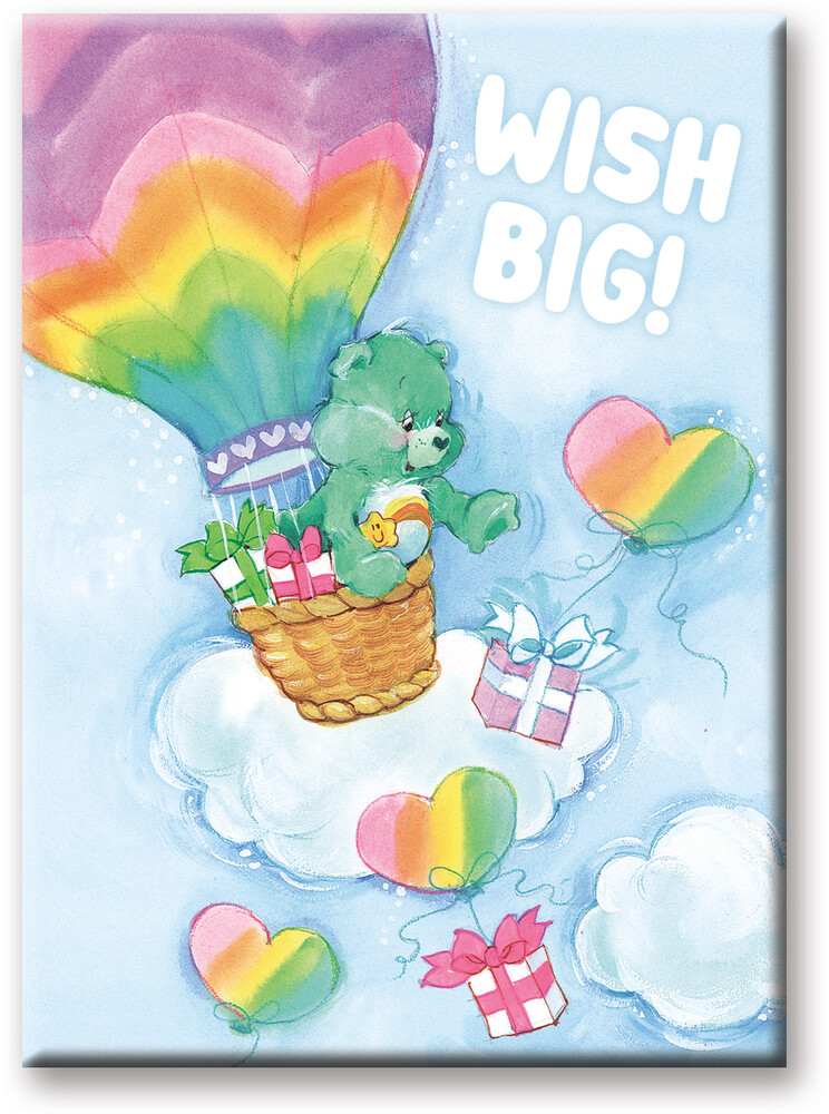 Care Bears Wish Big 2.5 X 3.5 Flat Magnet - Care Bears Wish Big 2.5 X 3.5 Flat Magnet