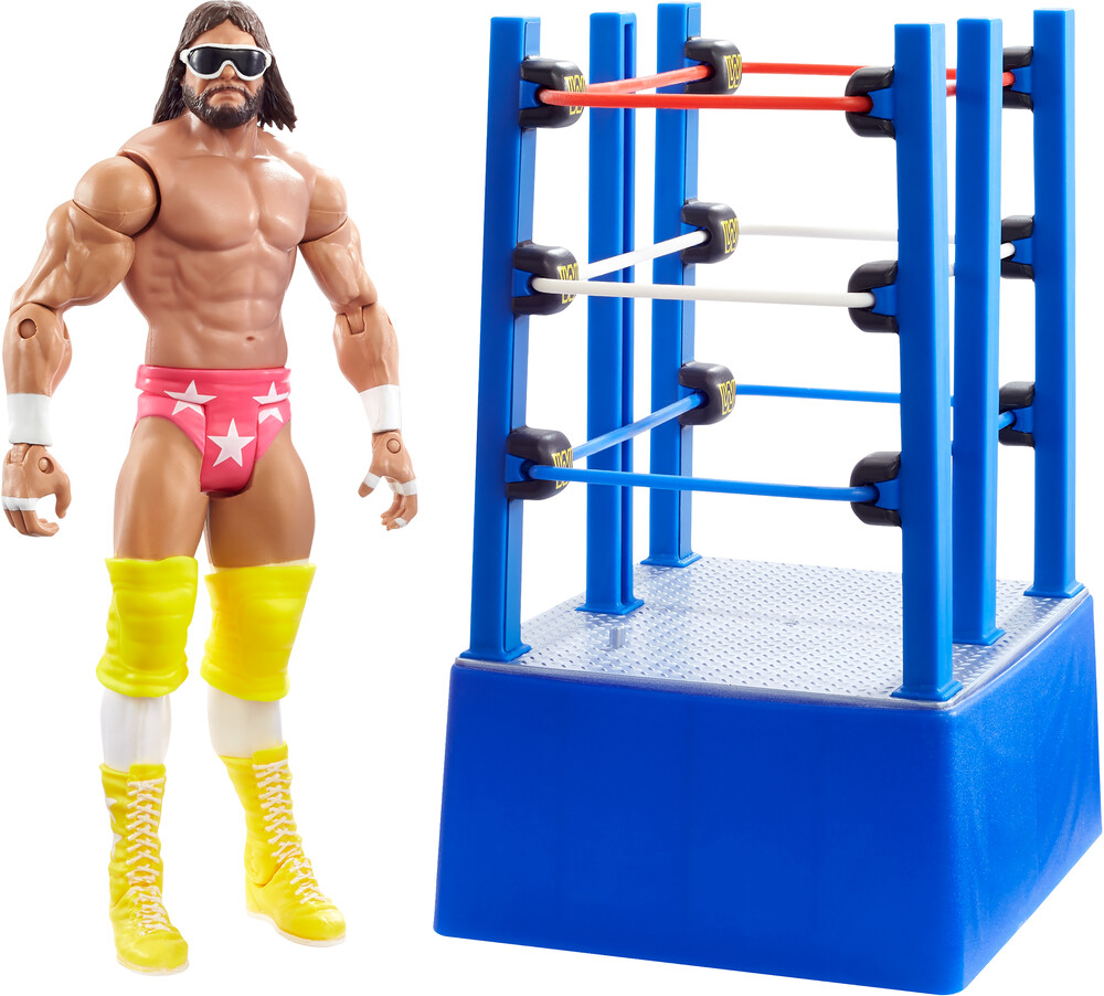 WWE - Mattel Collectible - WWE Wrestlemania Celebration: Macho Man Randy Savage