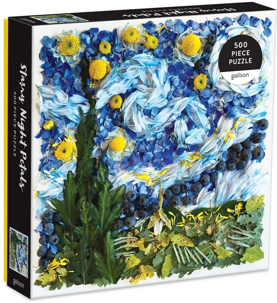 - Starry Night Petals 500 Piece Puzzle