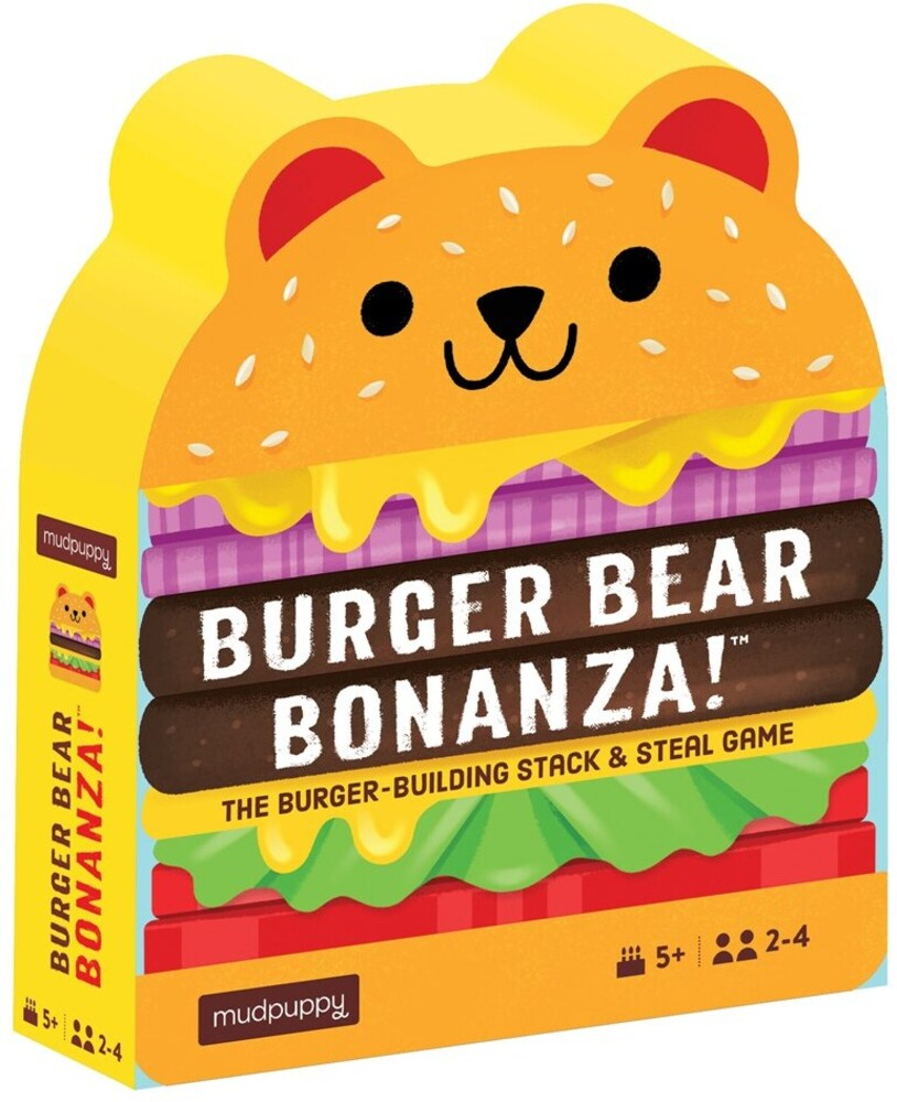 - Burger Bear Bonanza! Game: The Burger-Building Stack & Steal Game
