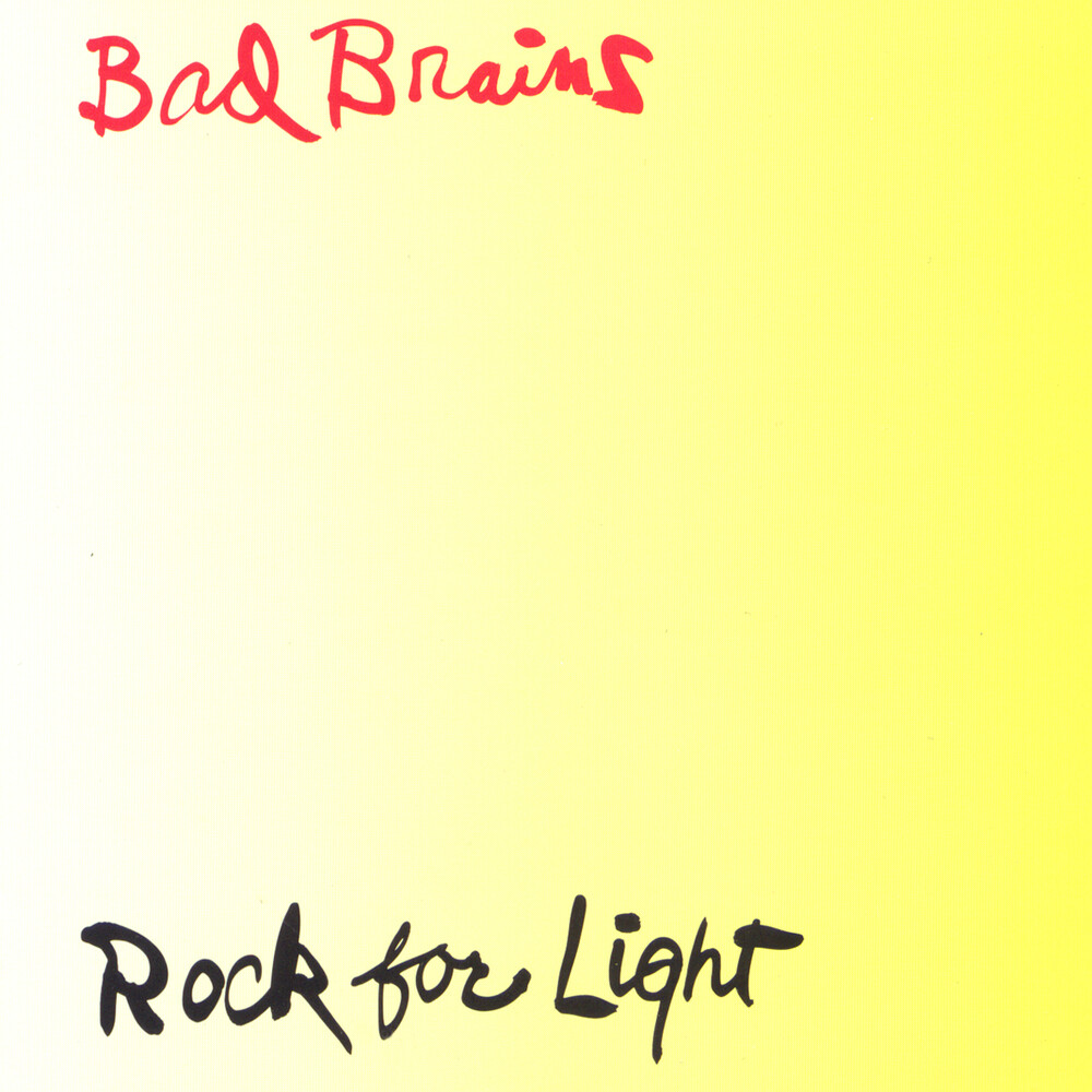 Bad Brains - Rock For Light (Ylw)
