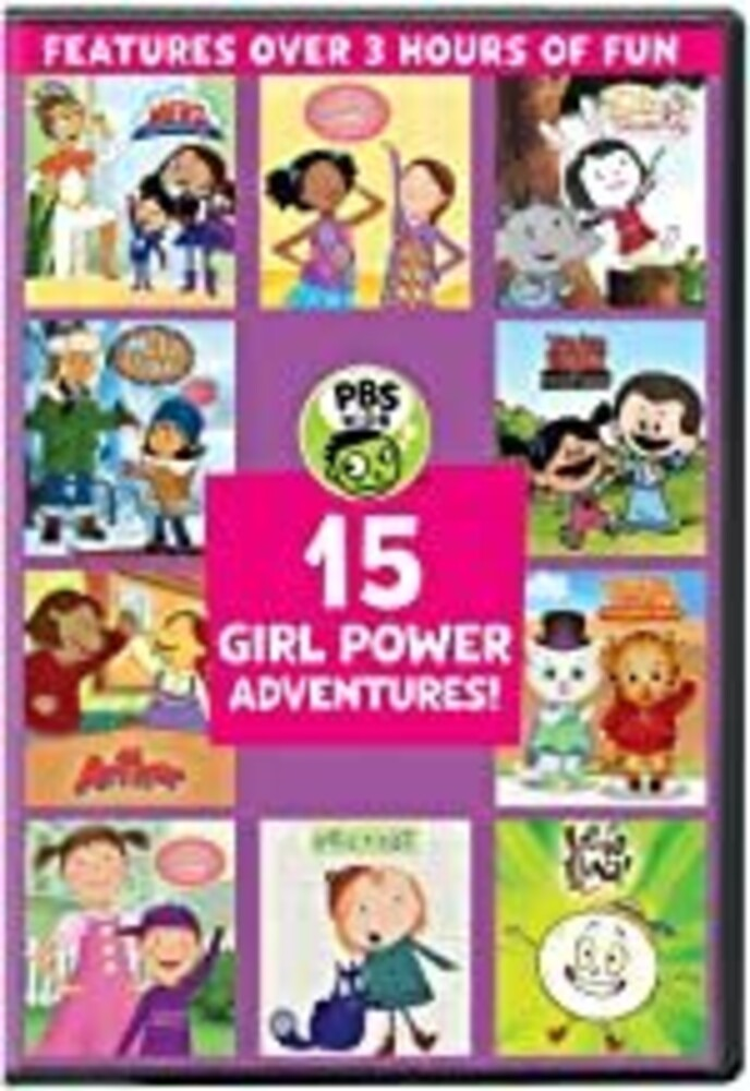 PBS Kids - Pbs Kids: 15 Girl Power Adventures