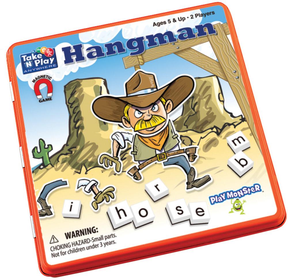 - Take N Play Anywhere Hangman Magnetic Game (Wbdg)