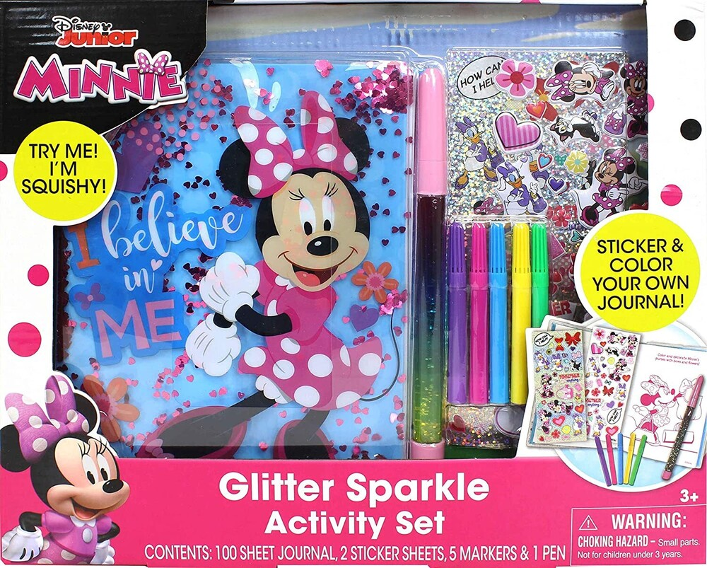 - Tara Toys - Minnie Mouse Glitter Activity Set (Disney)