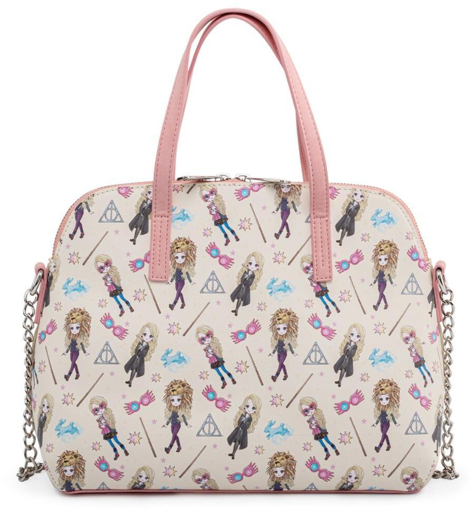 Loungefly Harry Potter: - Luna Lovegood All Over Print Crossbody Bag (Tote)