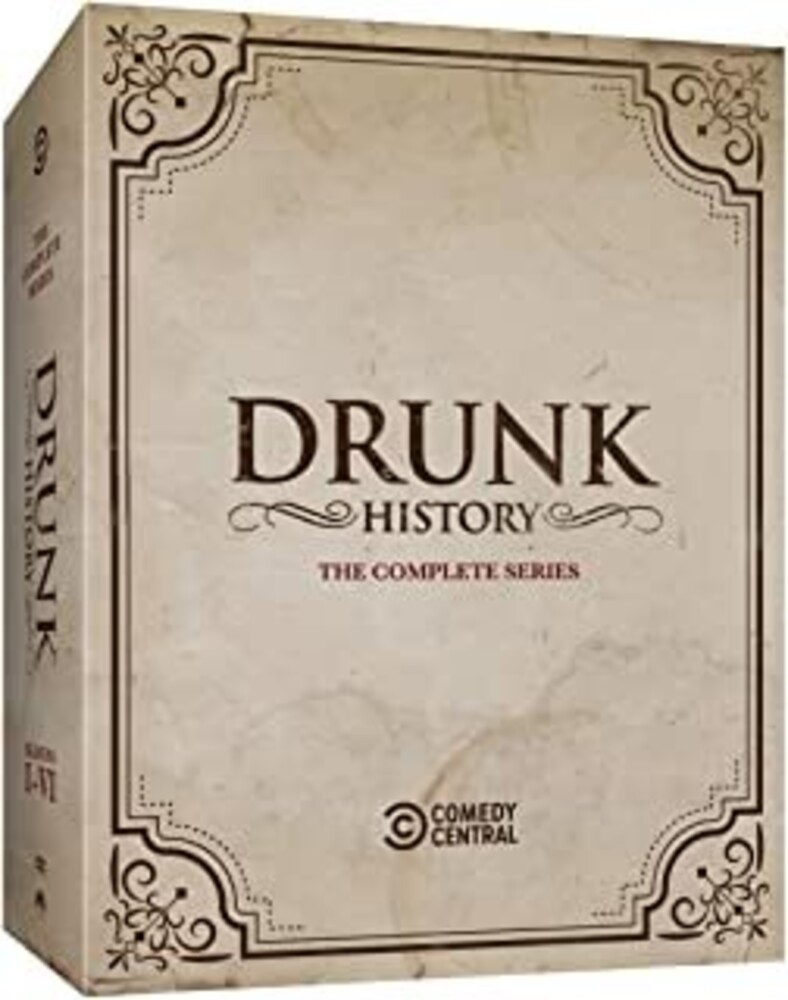 - Drunk History: Complete Series (11pc) / (Box Ac3)