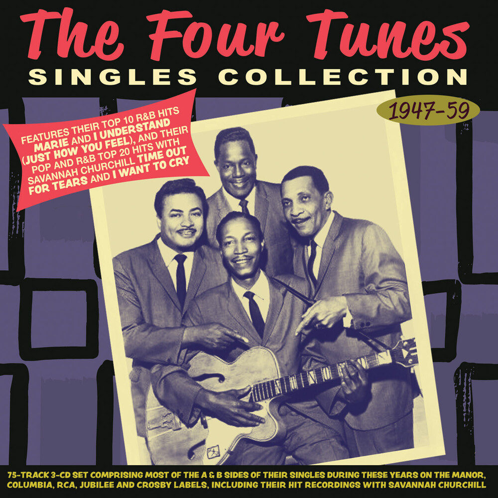 FOUR TUNES - Singles Collection 1947-59
