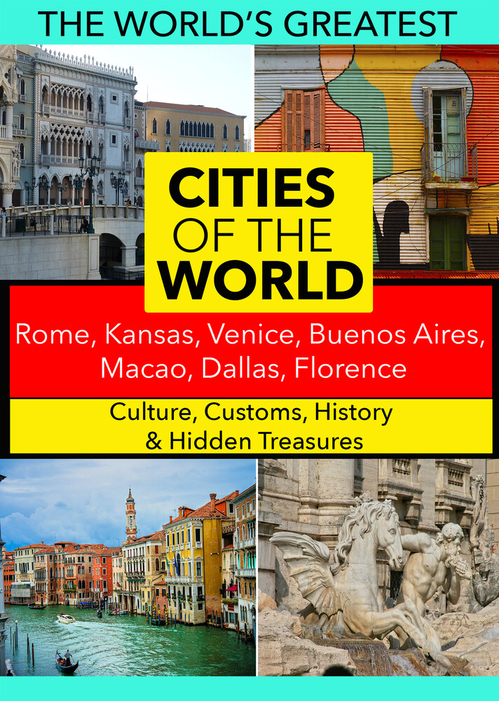 - Cities of the World: Rome, Kansas, Venice, Buenos Aires, Macao, Dallas, Florence