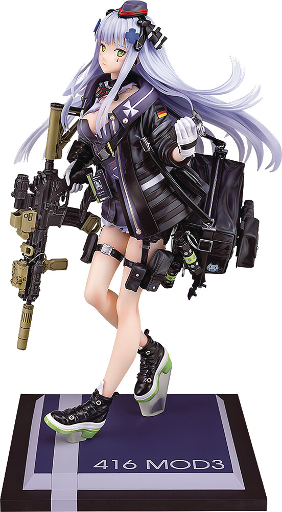- Girls Frontline 416 Mod3 Heavy Damage 1/7 Pvc Fig