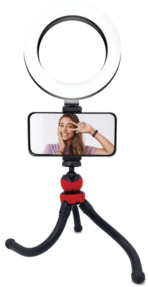 Bluestone Sk11Bk Vlogger 6.3in Flexi Ring Light - Bluestone Sk11bk Vlogger 6.3in Flexi Ring Light