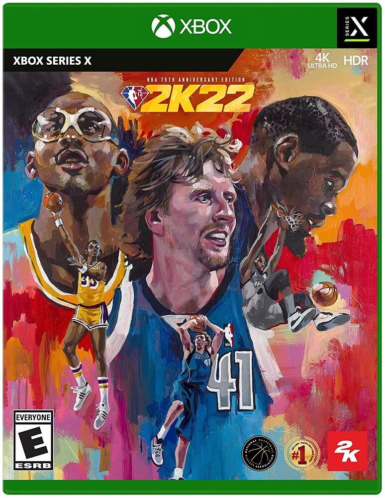 Xbx NBA 2K22 75th Anniversary - NBA 2K22 75th Anniversary for Xbox Series X