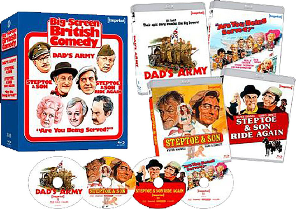 Big Screen British Comedy - Big Screen British Comedy (4pc) / (Ltd Aus)