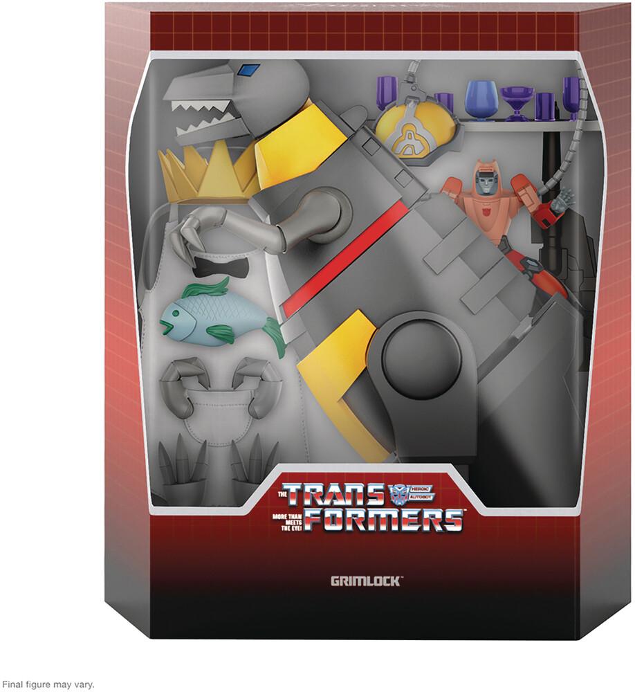 Transformers Ultimates! W2 - Grimlock [Dino Mode] - Transformers Ultimates! W2 - Grimlock [Dino Mode]
