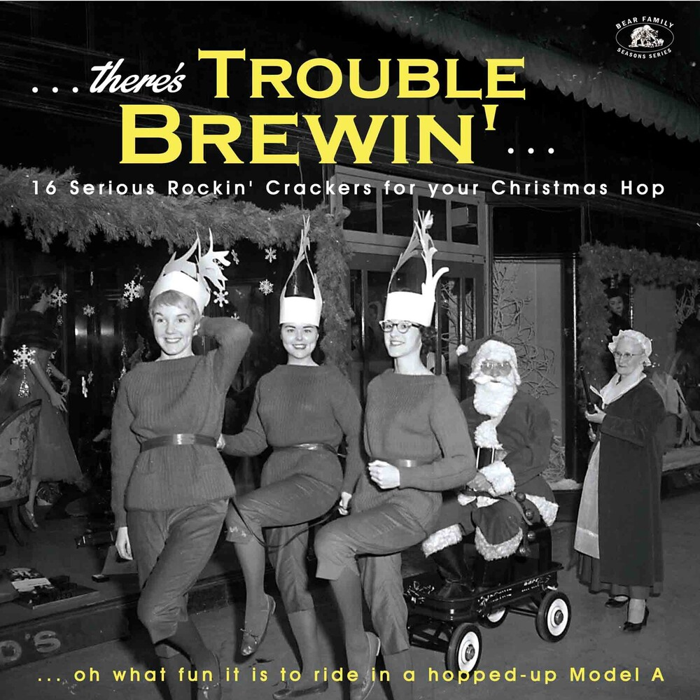 There's Trouble Brewin': 16 Serious Rocki' / Var - There's Trouble Brewin': 16 Serious Rocki' / Var