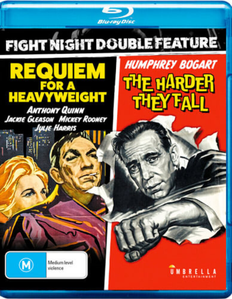 Fight Night Double: Harder They Fall & Requiem for - Fight Night Double: Harder They Fall & Requiem For