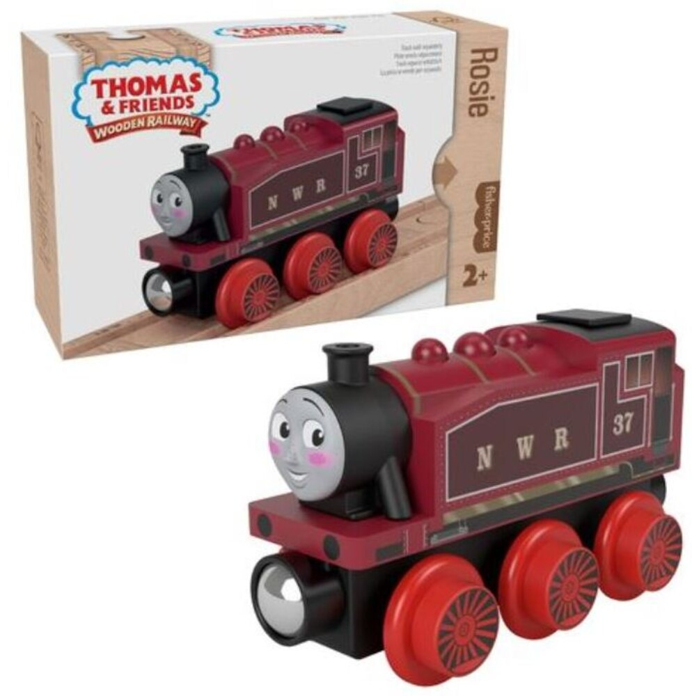 Thomas and Friends Wooden Railway - Thomas And Friends Wood Rosie Engine (Wood) (Trn)