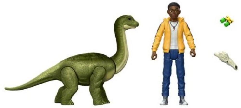 Jurassic World - Jw Human & Dino Bundle Darius & Baby Brachiosaurus