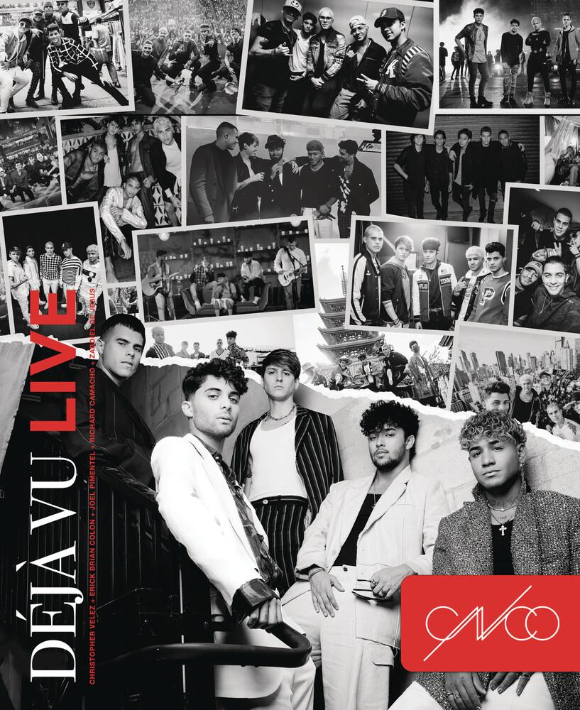 CNCO - Deja Vu Live
