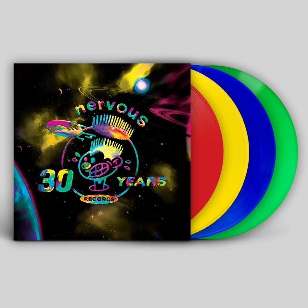 Nervous Records 30 Years Pt. 2 / Various (Blue) - Nervous Records 30 Years Pt. 2 / Various (Blue)