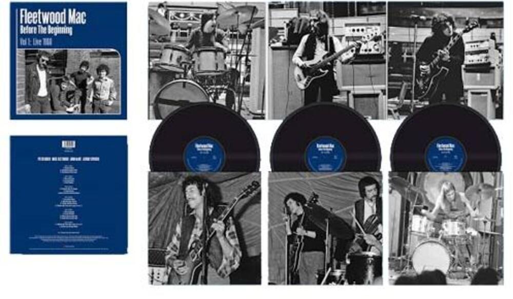 Fleetwood Mac - Before the Beginning Vol 1: Live 1968 [LP]