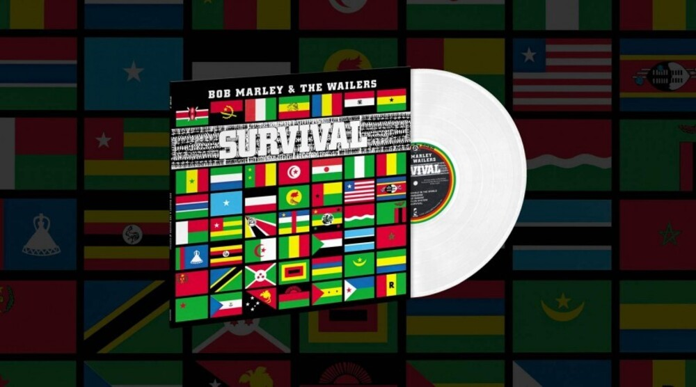 Bob Marley & The Wailers - Survival [Clear Vinyl] [Limited Edition] [180 Gram]