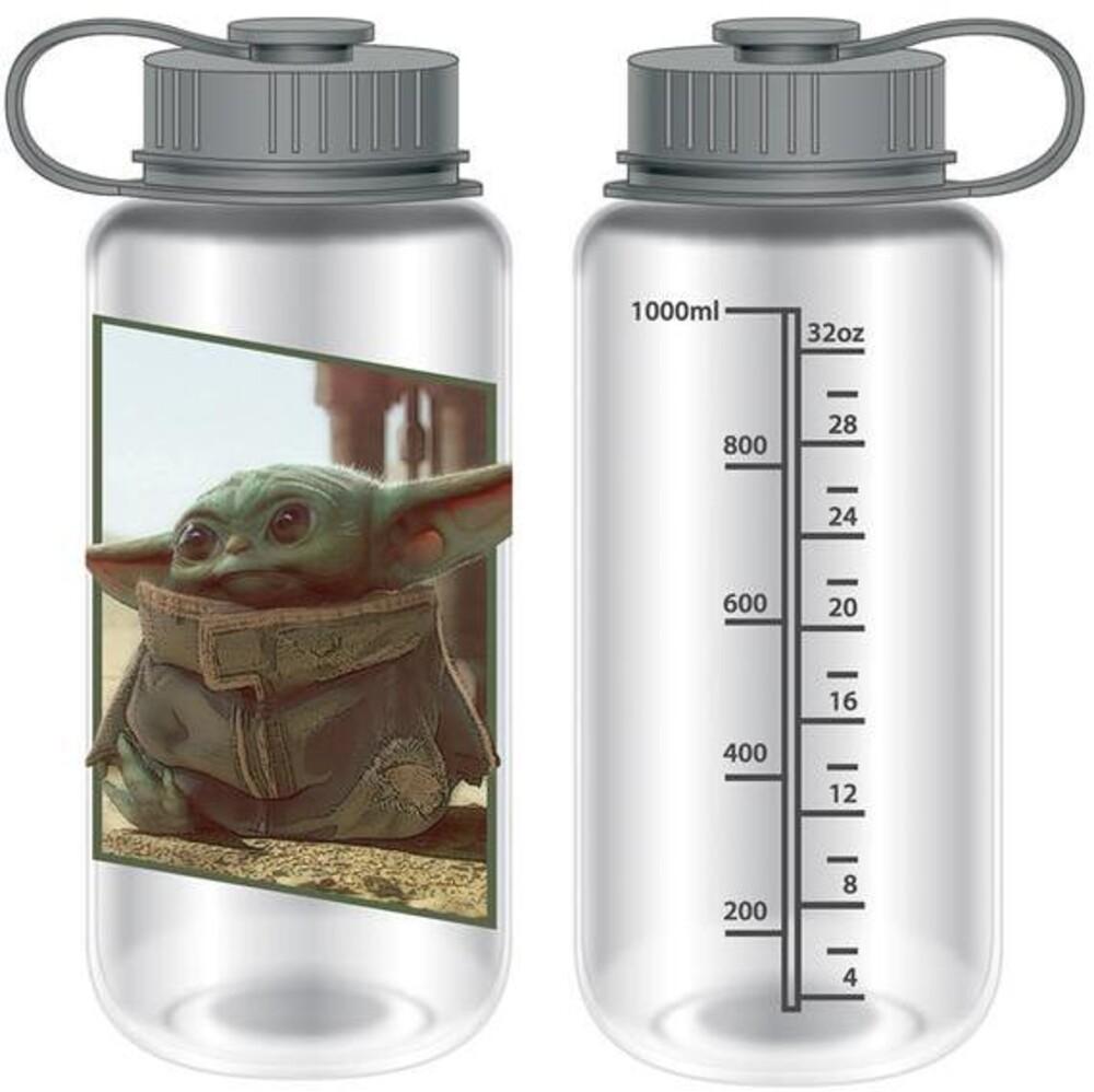 Star Wars: Mandalorian 30Oz Water Bottle - Star Wars: The Mandalorian 30Oz Water Bottle