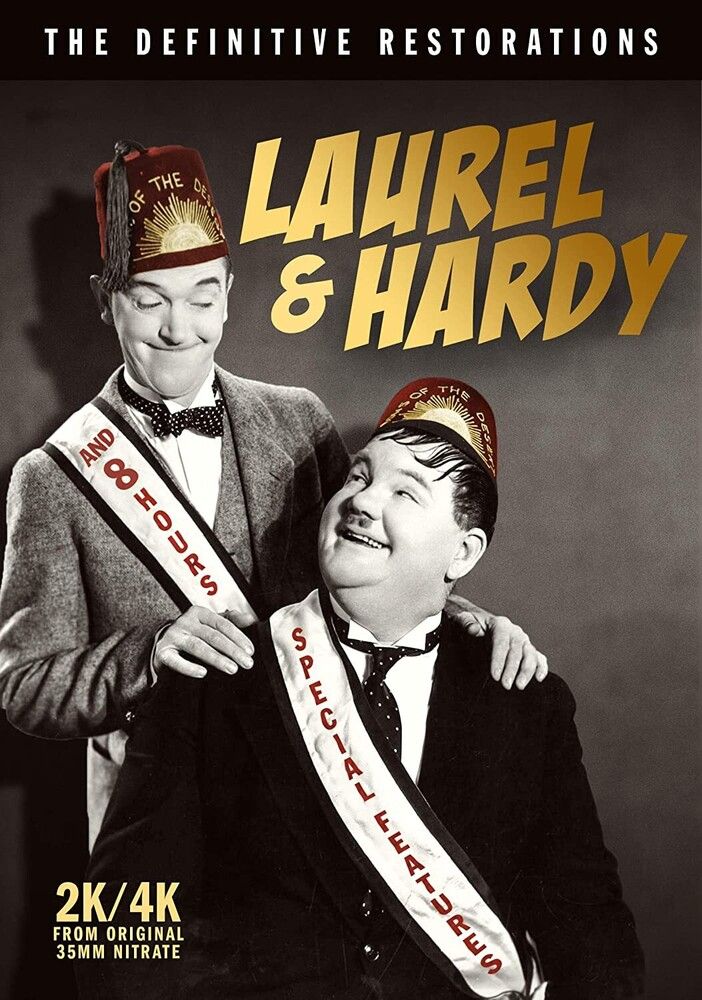 - Laurel & Hardy: Definitive Restorations (6pc)
