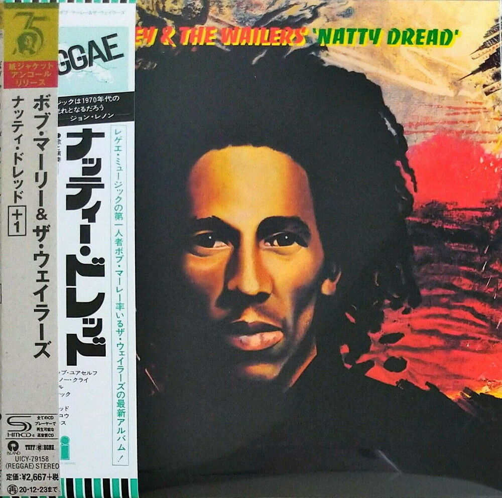 Bob Marley & The Wailers - Natty Dread (Jmlp) (Ltd) (Wb) (Rmst) (Shm) (Jpn)