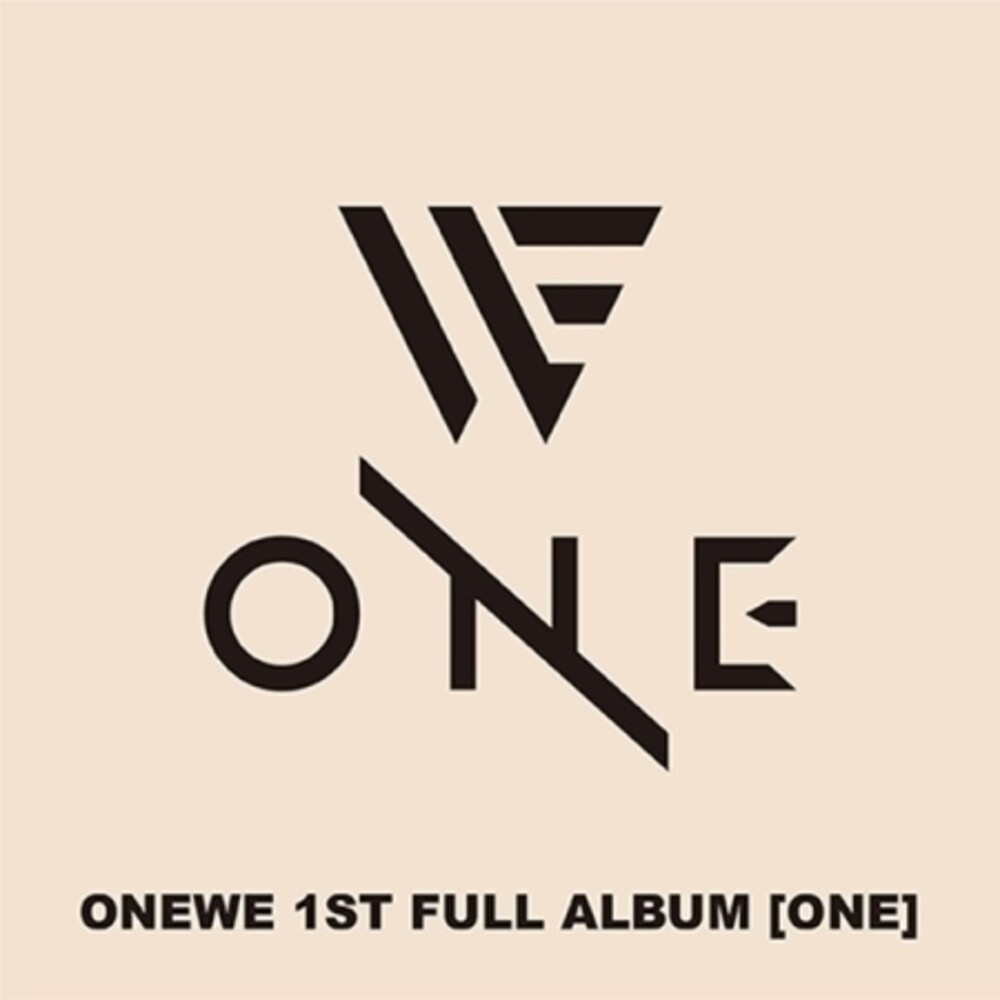 ONEWE - One (W/Book) (Phob) (Asia)